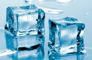 Safety of machine made ice cubes in Akumal