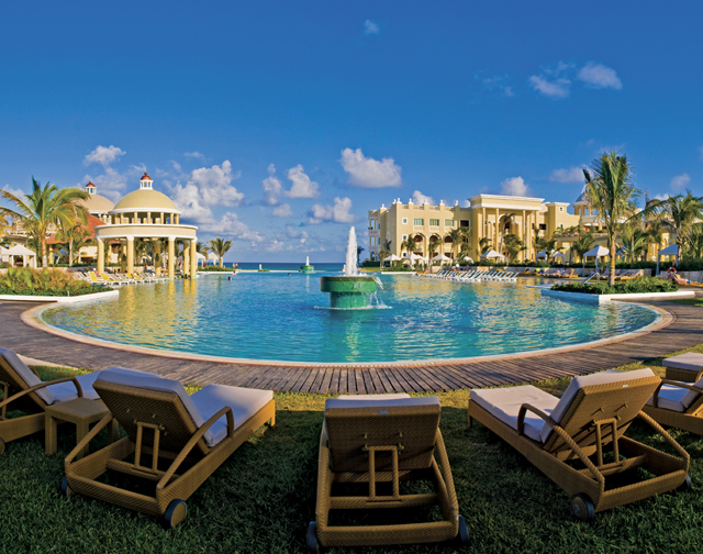 Ranked world's  #1 All-inclusive resort: Iberostar Grand Hotel Paraiso in Playa del Carmen