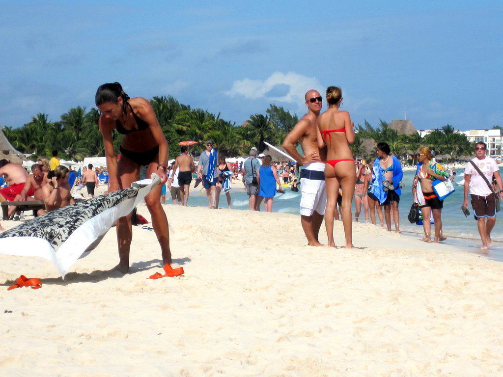 Expedia Lists Playa del Carmen Beach in the Top Bikini Beach List