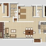 A4 - 140.81 sq. mtr. - 180.82 sq. mtr. 3 Bed/2 Bath