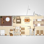 A1 - 144.9 sq. mtr- 213 sq. mtr , 3 Bed/2 Bath