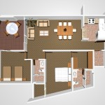 A2 - 121.78 sq. mtr. - 169.77 sq. mtr. 2 Bed/2 Bath