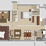 A3 - 122.52 sq. mtr. - 171.26 sq. mtr. 2 Bed/2 Bath