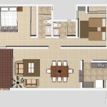 A4 - 115.79 sq. mtr. - 158.57 sq. mtr. 2 Bed/2 Bath
