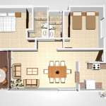 K1 - 113.84 sq. mtr. - 155.53 sq. mtr. 2 Bed/2 Bath